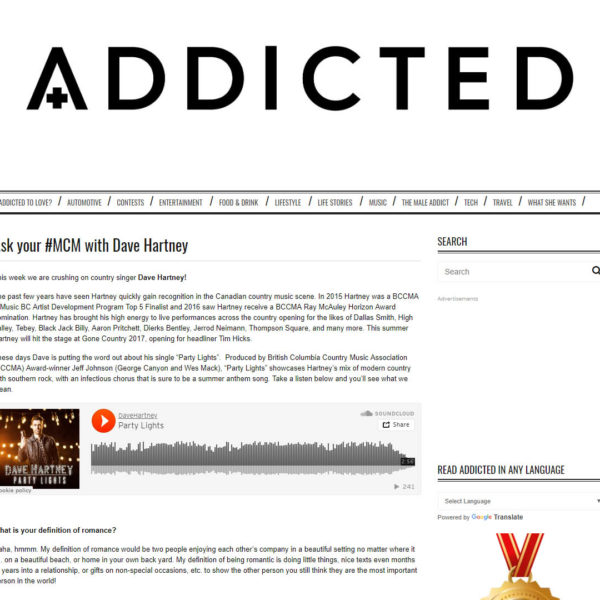Dave talks to Addicted Magazine. Read the interview here!